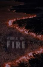 WORLD ON FIRE ━ remus lupin  by demonoIogy