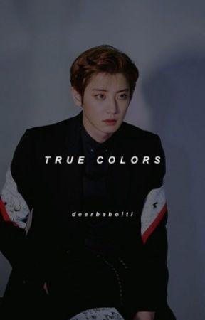 true colors • chanbaek by Deerbabolti