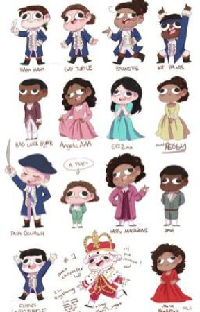 Hamilton Characters React To Ships 💛  by Connor_Murphys_Milk
