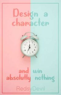 design a character and win nothing cover