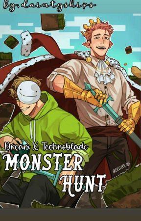 Monster Hunt // Dreamnoblade (Dream x Technoblade) by daintyships