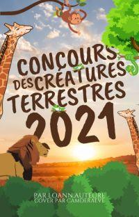 Concours des créatures terrestres 2021 cover