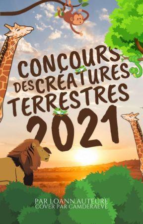 Concours des créatures terrestres 2021 by loannauteure