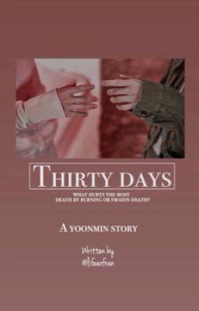 30 days | yoonmin by lifeeofran