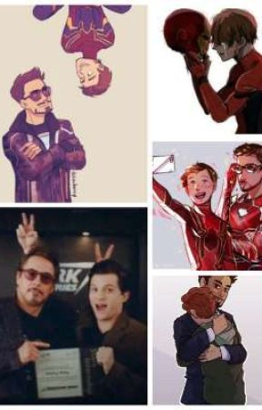 Iron-dad and Spider-son. Mostly Field Trips and Indentity Reveal oneshots by potterheadmeetsworld