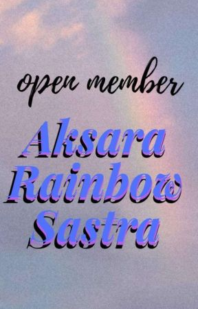 Open Member ARS by aksararainbowsastra