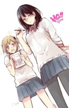 Karasuno's Managers Are In Love (Kiyoko x Yachi) by haikyuuwrittenhere