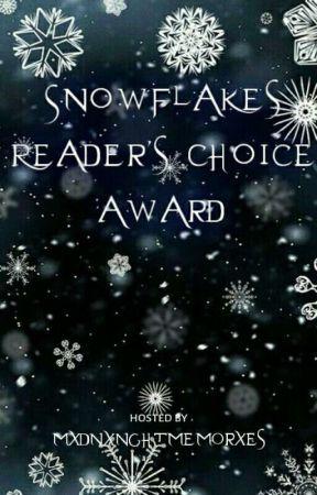 Snowflakes Reader's Choice Award (CLOSE) by WinterLeague