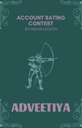 Adveetiya || The Account Awards by IndianLegion