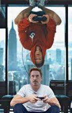 My Rock: Tony Stark// Peter Parker by Anonomys_Writter