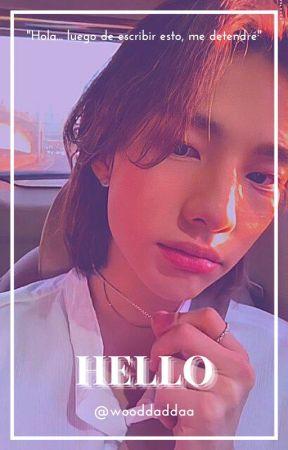 Hello (HyunIn) by wooddaddaa