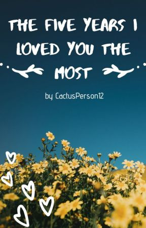 The Five Years I Loved You The Most ( Fugo x F!Reader ) by Cactusperson12
