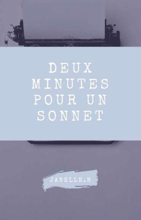 Deux minutes pour un sonnet by tornade_de_mots