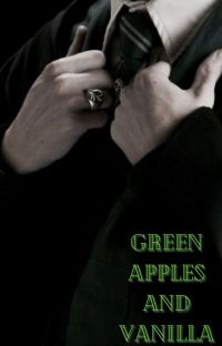 Green apples and vanilla cover