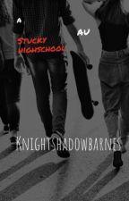 A stucky high school AU by Knightshadowbarnes