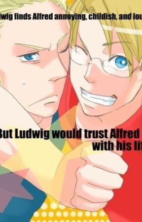 Ludwig x Alfred by Ivan_Caffey