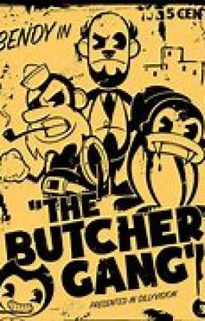 Butcher Gang ask book by Edgarthespidderboi