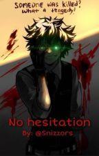 No hesitation - villain deku  by Snizzors
