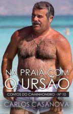 Na Praia com o Ursão (conto erótico gay) by CarlitoCasanova