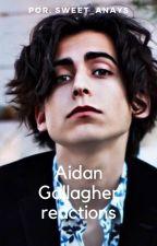 Aidan Gallagher reactions de Sweet_Anays