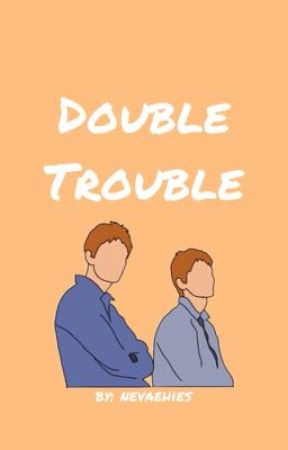 Double Trouble (Weasley Twins x Reader) by nevaehies