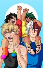 Babysitters Shoto and Kacchan by double_entendre
