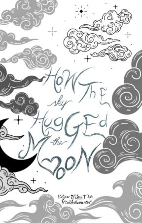 How The Sky Hug The Moon by friableracounter