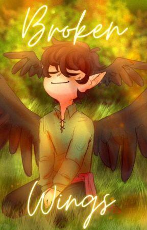 '-. Broken Wings .-' (MCYT SCP AU) (SLOW UPDATES) by BrownHairedLesbian