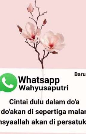 𝘾𝙞𝙣𝙩𝙖𝙞𝙡𝙖𝙝 𝘿𝙞𝙖 𝘿𝙞 𝙨𝙚𝙥𝙚𝙧𝙩𝙞𝙜𝙖 𝙈𝙖𝙡𝙖𝙢 by Wahyusaputri_