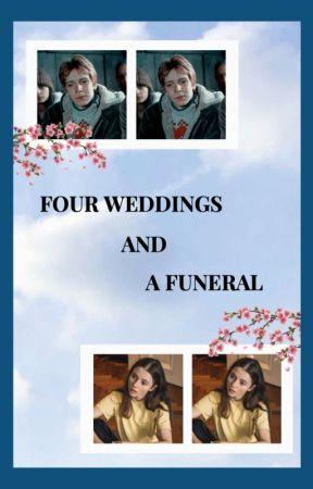 FOUR WEDDINGS AND A FUNERAL ━━ george weasley by -HTTPWEASLEYS