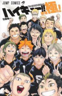 HAIKYUU!! FINAL GUIDEBOOK  cover
