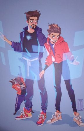 OS - SpiderSon et IronDad by Nezy02