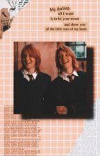 Weasley Twins x Reader by MaddieNewtsimp