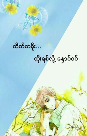 တိတ္တခိုး...တိုးရစ္လို႕ေႏွာင္ငင္ by Hanaeshiya