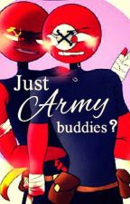 Just Army Buddies? (AU) by SharpestFlint