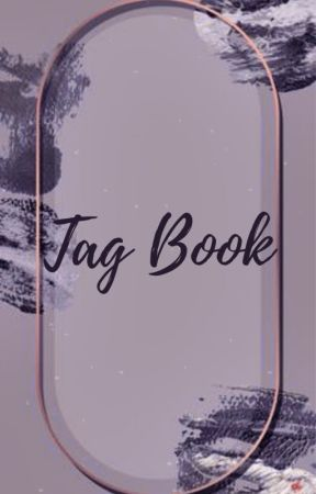 Tag book - i got tagged by mendesdreamer31