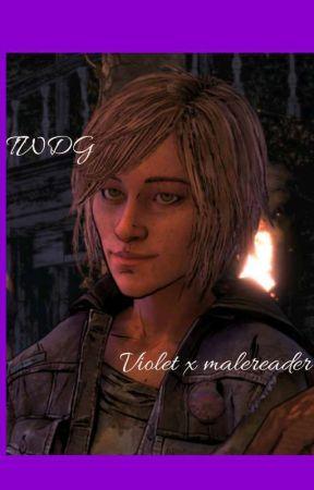 Violet x malereader by Walkingdeadtelltale