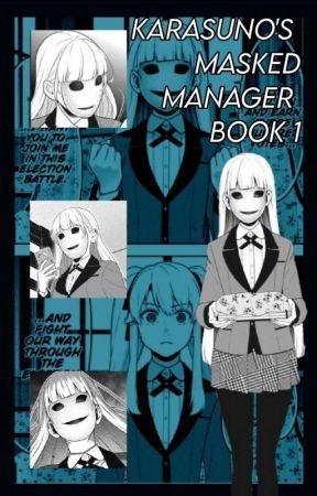 Karasuno's Masked Manager (Haikyuu x Male reader) by Skully134