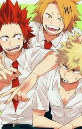 The Hands At My Throat - kiribakukami soulmate AU by AnimeBeatsRealLife