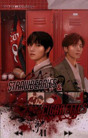 strawberries & cigarettes  taegyu  by lovelypjjw