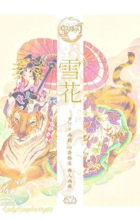 [雪の花] Snow Flower  Kyojuro Rengoku x Yukionna!Reader  by LadyRaspberry93