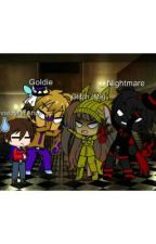 Ask and Dare Nightmare, Goldie, Chris (Aka Shadow Freddy) and Glitch, So Me! by LGBTQPride_Supporter