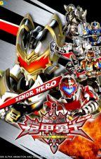Armor Hero X Anime Crossover: The Armor Heroes by ShiroWhiteWizard