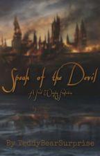 Speak of the Devil // Fred Weasley by jules_onthemoon