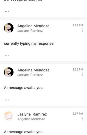 MESSAGES I CAN NOT SAY ON EMAIL by Jas_and_Angie