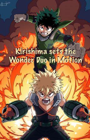 Kirishima sets the Wonder Duo in Motion by Chaton7