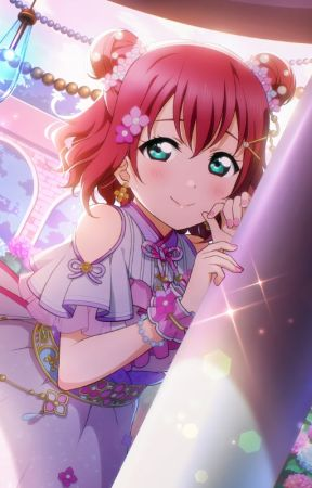 Love Live! Red Gem Wink (Ruby Kurosawa x Male Reader) by Emraldknight