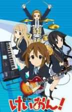 K-on × Male reader one-shots by Quint_lover
