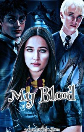 𝐌𝐘 𝐁𝐋𝐎𝐎𝐃  Draco Malfoy  Harry Potter by wheelerblossom