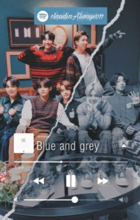 Blue and Gray •a BTS Christmas story by claudiaAlways011